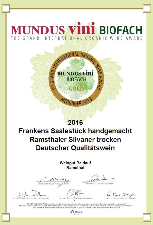Auszeichnung 2018