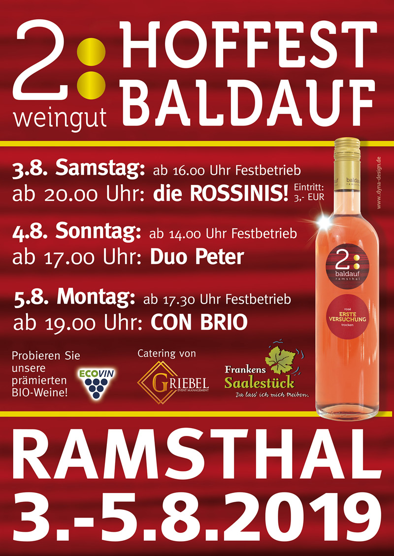 Hoffest Baldauf 03. bis 05.08.2019